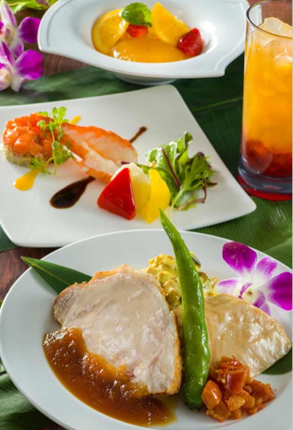 レストラン ポリネシアン